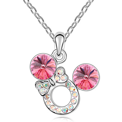 Florence Crystal Bow Necklace - Florence Scovel - 1