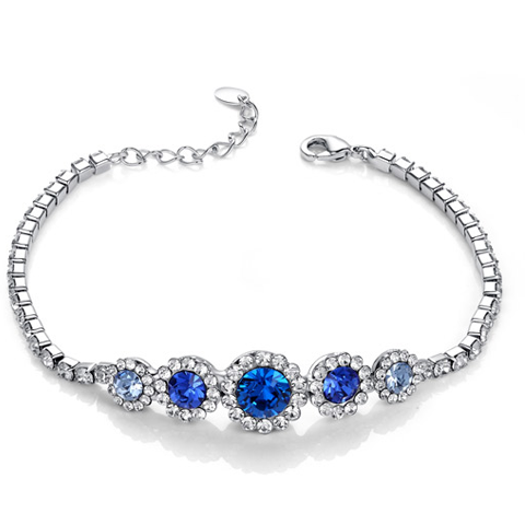 Sapphire Imperial Bracelet - Florence Scovel