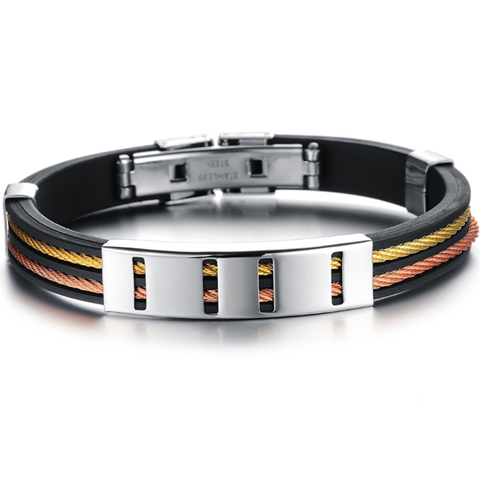 Sunrise Men's Stainless Steel Bracelet - Florence Scovel