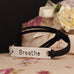 Breathe Leather Strap Bracelet - Florence Scovel - 2