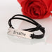 Breathe Leather Strap Bracelet - Florence Scovel - 4