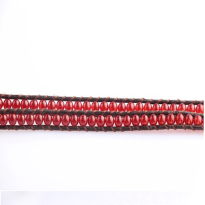 Red Desert Hex Wrap Bracelet - Florence Scovel - 2