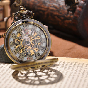 Antique Gold Pocket Watch - Florence Scovel - 3