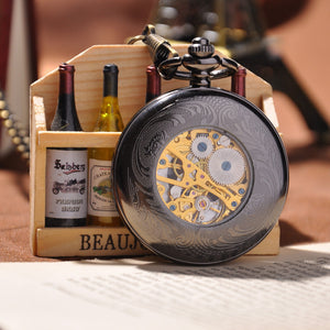 Black Vine Pocket Watch - Florence Scovel - 2