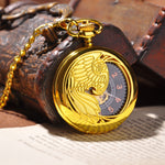 Gold Half Hunter Pocket Watch - Florence Scovel - 1