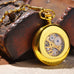 Gold Half Hunter Pocket Watch - Florence Scovel - 2