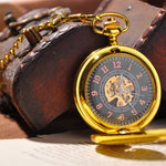 Gold Half Hunter Pocket Watch - Florence Scovel - 4