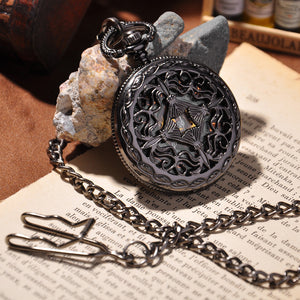 Black Cage Full Hunter Pocket Watch - Florence Scovel - 1