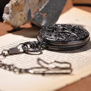 Black Cage Full Hunter Pocket Watch - Florence Scovel - 2