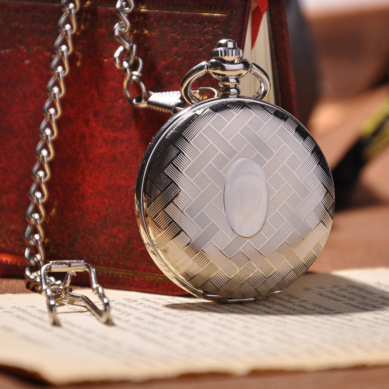 Silver Full Hunter Pocket Watch - Florence Scovel - 1