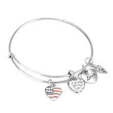 Patriot Love Charm Bangle - Florence Scovel - 2