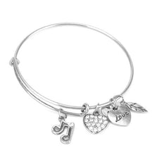 Music Note Charm Bangle - Florence Scovel - 2