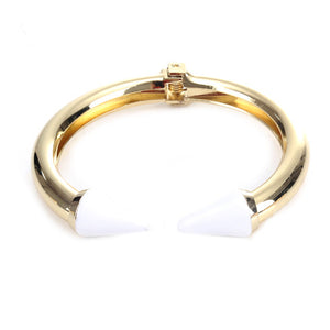 White Love Arrow Bangle - Florence Scovel