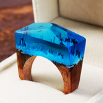 Enchanted Winter Forest Ring - Florence Scovel - 2