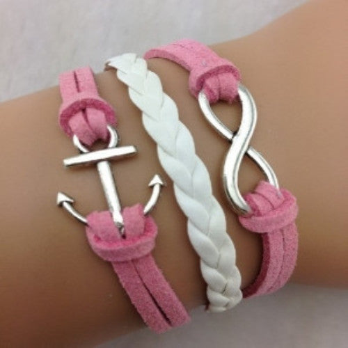 Infinity Anchor Pink - Florence Scovel