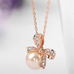 Bow Pearl Necklace - Florence Scovel - 2