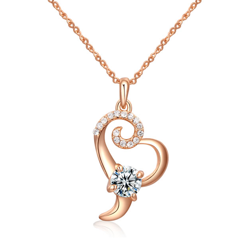 Floral Heart Pendant - Florence Scovel - 1