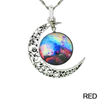 Starry Galaxy & Moon Necklace - Florence Scovel - 6