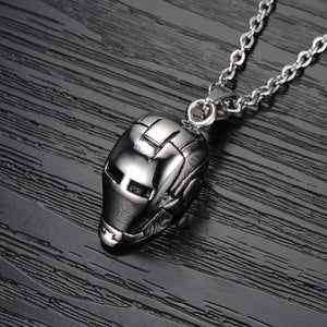 Iron Man Stainless Steel Pendant - Florence Scovel - 2