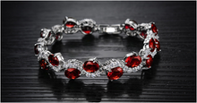 Red Garnet Exquisite Bracelet - Florence Scovel - 2