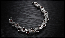Red Garnet Exquisite Bracelet - Florence Scovel - 3
