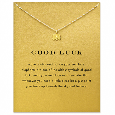 Good Luck Elephant Pendent - Florence Scovel - 1