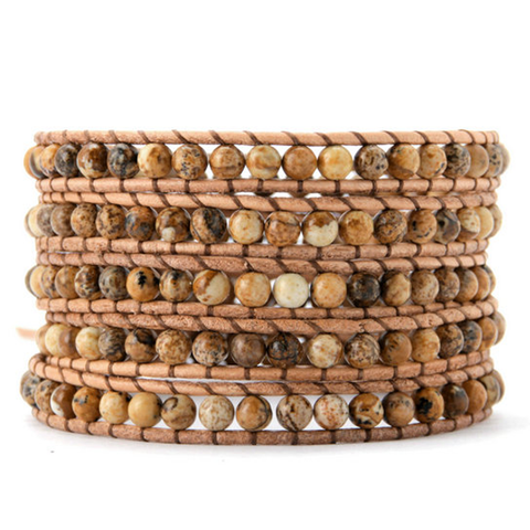 Magnificent Wood Wrap Bracelet - Florence Scovel - 1