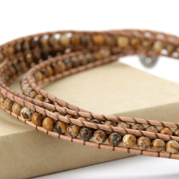 Magnificent Wood Wrap Bracelet - Florence Scovel - 2