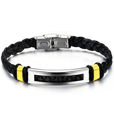 Bold Rope Stainless Steel Men's Bracelet - Florence Scovel - 1