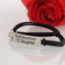 Grandmother Love Daughter Leather Strap Bracelet - Florence Scovel - 4