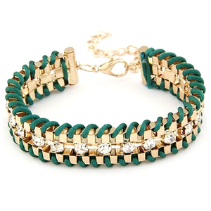 Golden Chain Bracelet - Florence Scovel - 1