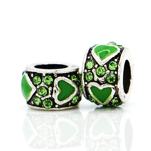 Green Heart Charm - Florence Scovel