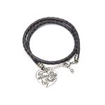 Mother Daughter Heart Hand Stamped Bracelet - Florence Scovel