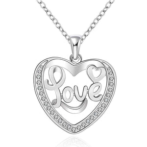 Exquisite Love Heart Pendant