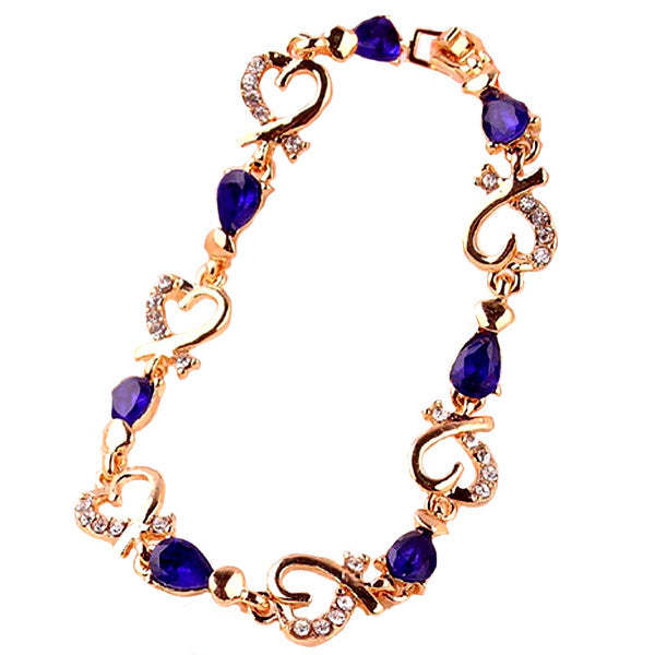 Heart Drop Bracelet - Florence Scovel - 2