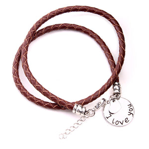 I Love You Charm Bracelet - Florence Scovel
