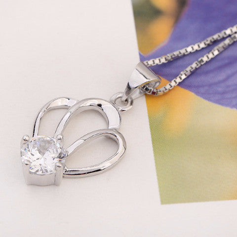 Crown Silver Pendant - Florence Scovel - 4