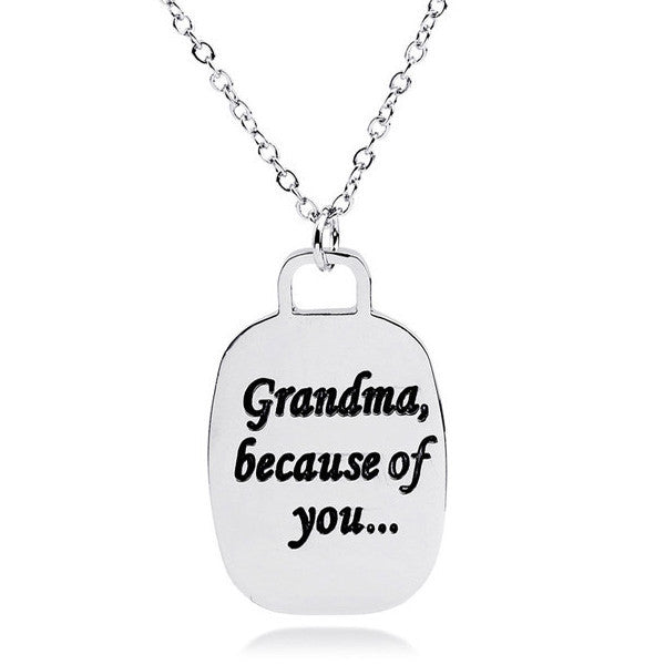Because of You Grandma - Florence Scovel - 1
