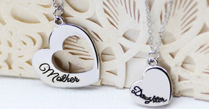 Mother Daughter Heart Set - Florence Scovel - 2
