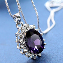 3 Carat Handcrafted Alexandrite Pendant with Silver Plated Chain - Florence Scovel - 3