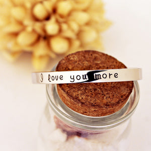 18k Gold Plated - I Love You More Bangle - Florence Scovel - 5