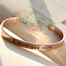 18k Gold Plated - I Love You More Bangle - Florence Scovel - 6