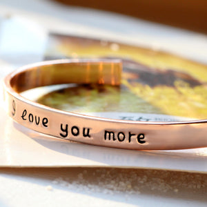 18k Gold Plated - I Love You More Bangle - Florence Scovel - 7