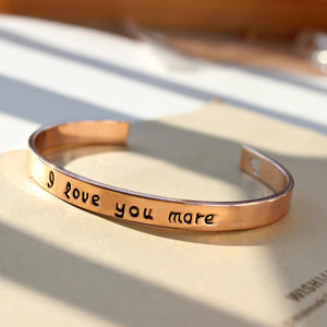 18k Gold Plated - I Love You More Bangle - Florence Scovel - 9
