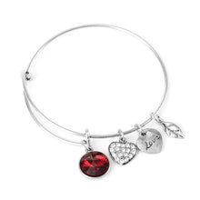January Birthstone Charm Bangle - Florence Scovel - 3