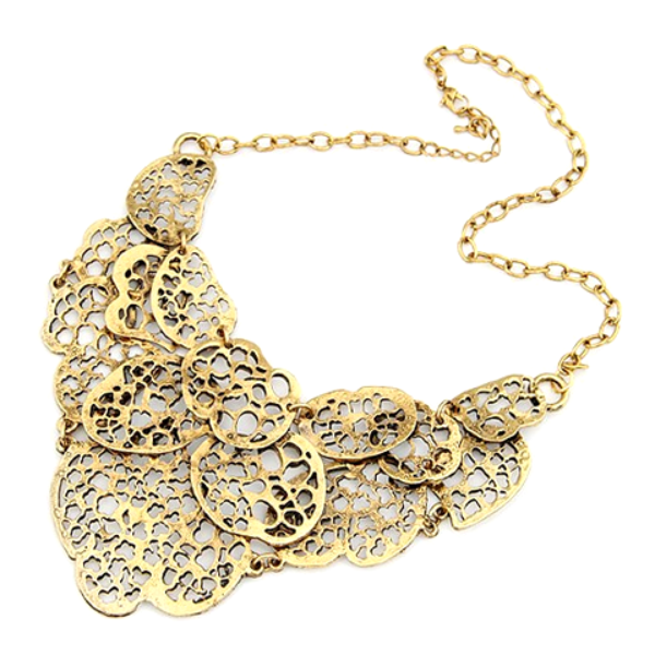 Kenyan Statement Necklace - Florence Scovel