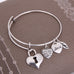 Key to Love Charm Bangle - Florence Scovel - 3