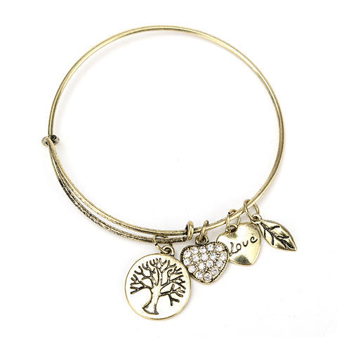 Tree of Life Charm Bangle - Florence Scovel - 1