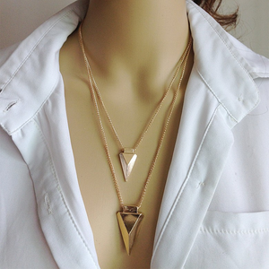 Multi-Layer Arrow Necklace - Florence Scovel