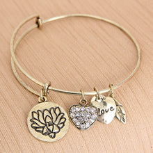 Lotus Love Charm Bangle - Florence Scovel - 2